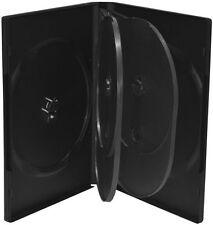 400 DVD Hüllen 6er Box 22 mm für je 6 BD / CD / DVD schwarz