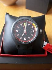 MENS MENS SCUDERIA FERRARI PIT CREW WATCH BLACK   0830005