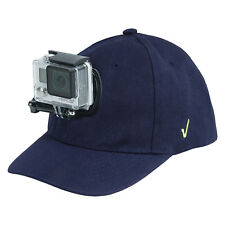 Review XP® Baseball Hat Quick Release Buckle Mount Adjustable Cap for GoPro Blue