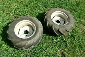 Ariens S-16H 5 lug rear wheels and AG tires 23X10.50-12