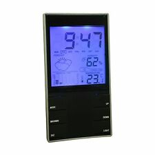 LCD MULTIFUNCTION WEATHER STATION THERMOMETER BAROMETER HUMIDITY CLOCK ALARM