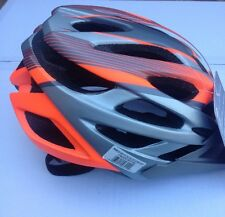 New Bell Dart Youth Adult Bicycle Helmet 53-60cm Spin Action Fit Red Flourescent