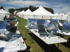 6-PK Sun Dome Solar Cooker and Oven Cooking Kit--for Patio, Camping, RV, Offgrid