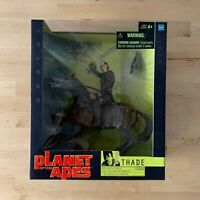 Planet of the Apes Thade with Battle Steed Action Figure - Hasbro, 2001 NIB