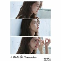 SNSD YOONA A WALK TO REMEMBER Special Album CD+Photobook+Etc+Tracking Number