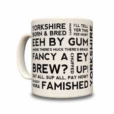 Yorkshire dialecte Mug Céramique-Super Cadeau! - Yorkshire EXPRESSIONS ET PROVERBES