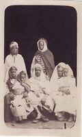 Africa Del Nord Arabi Vintage Albumina Formato CDV 5,5 × 9 CM