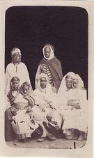 Afrique du Nord Arabes Vintage albumine format cdv 5,5 × 9 cm