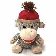 Build a Bear BABW Smallfrys Small Frys Plush Stuffed Sock Monkey