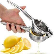 Hand Press Lemon Squeezer Orange Lime Citrus Juice Juicer Stainless-Steel Tool