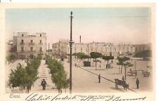 TRANI  -  Piazza Vittorio Emanuele II. - Barone Nicola Bianchi - Editore - Trani