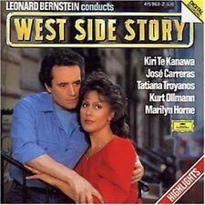 West Side Story-Highlights (1985) Kiri Te Kanawa, José Carreras.. (cond. .. [CD]