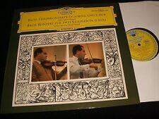 BACH°VIOLIN CONCERTOS 1-2<>DAVID OISTRACH<>LP Vinyl~Germany Pressing<>138 820