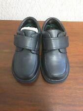 White Cross Official School Shoes 1029 BLACK - MONK STRAP BOYS Size: 9 NIB