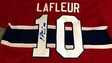 Guy Lafleur Signed Montreal Canadiens CCM Jersey w/ COA