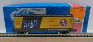 Con-Cor 1351-R Freight Car Slot The Beer for N Gauge Boxed