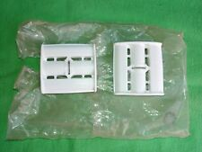 Nos Vintage White Plastic Tricycle Pedal Car Pedals