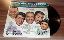 Peter Falk *Insp. Columbo*, original signed Vinyl *Robin and the 7 Hoods*, RAR