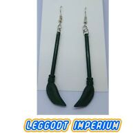LEGO Custom Dangle Earrings - Harry Potter Broom - FREE POST