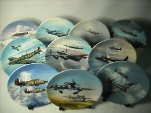 Choose ONE OR MORE Plates REACH FOR THE SKY Coalport Plate Michael Turner