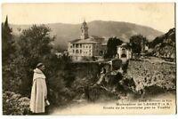 CPA 06 Alpes-Maritimes Environs de Nice Monastère de Laghet Route de la Corniche