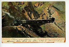 Ferrocarril del Sur—Antique Mexican Train RR Railroad UDB Locomotive <1908