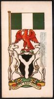 Flag And Standard - Banner For Nigeria c50 Y/O Trade Ad Card
