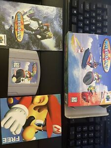 Wave Race 64 - N64 - CIB - Great Clean Condition - Shipping Today