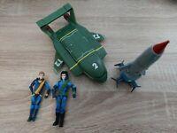 THUNDERBIRDS ARE GO Motion Tech Lot Thunderbird 1 2 4 And 2 Figures