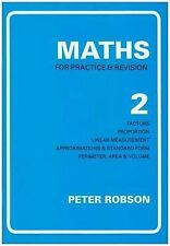 Maths for Practice and Revision: Bk. 2 by Peter Robson (Paperback, 1991)