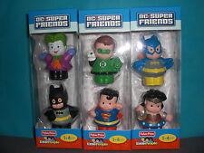 Little People Superfriends w/ Batman, Joker, Superman, Green Lantern, Batgirl