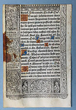 1507 SIMON VOSTRE Stundenbuch Book of Hours Pergament Vellum HARDOUIN Paris