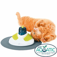 NEW Catit Design Senses MASSAGE CENTER Grooming Toy For Cats & Kittens Catnip