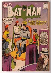 DC Comics BATMAN silver age #125 VG- 3.5 1959 KING THE 1st