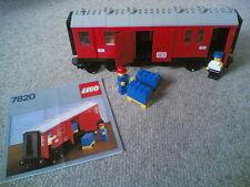 LEGO 7820 Mail / Parcels Van - train / railway / 4.5V / 12V - VINTAGE & RARE