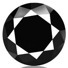 0.21ct 100% Natural earth mined brilliant luster 5a jet black color diamond