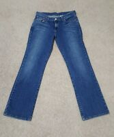 Lucky Brand Mid Rise Women's Flare Denim Jeans Dungarees Size 12 / 31 Regular