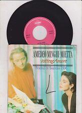 Amedeo Minghi Mietta - Vattene Amore - Vattene Amore - 7 Inch Vinyl
