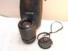 CANON FD RMC Tokina 35-105mm 1:3.5-4.5 LENS Wide/Zoom/Macro+Pouch +1A Filter