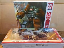 Transformers Masterpiece Optimus Prime & SOUNDWAVE Year of the Goat Platinum New
