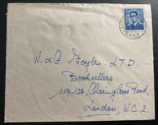 1956 Belgium Forces Military Post Office In Germany cover To London England