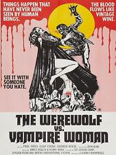 1971 Werewolf vs Vampire Woman High Quality Metal Magnet 3 x 4 inches 9287