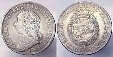 Scudo 6 Lire 1765 Carlo Emanuele III Regno di Sardegna Q.BB A.VF Raro #PF4635