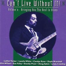 Can't live without it! (Blues, 1994, Antone's) Luther Tucker, Lavelle Whi.. [CD]