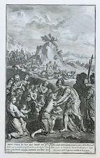 11 Kupfertafeln zum alten Testament, Buch Genesis, nach Huet, Den Haag 1728