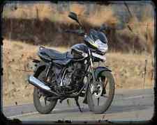 Bajaj Discover 125 09 03 A4 Metal Sign moto antigua añejada De