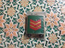 Grado in metallo di Assistente Capo Corpo forestale per Drop. Originale. Nuovo