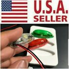 3PC Wireless Rechargeable LED Light Set RC Airplane Drone Heli Navigation Flash