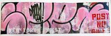 Original Canvas From SEEN Bubbles PNB RAW Series 2020 Graffiti Painting