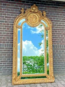 French Louis XVI Style Mirror - Free Worldwide Shipping